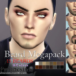 Pralinesims' Beard Megapack~ 15 Beards