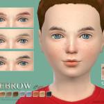 S-Club WM thesims4 Eyebrows C03