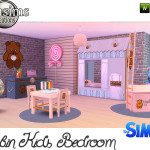 jomsims' Cabin Kids bedroom