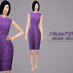 tangerinesimblr's Adrianne – Dress (Oscar de la Renta)