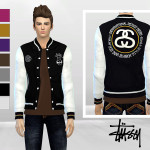 McLayneSims' International Tribe Varsity Jacket