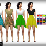 DarkNighTt's High Waist Skirt Dress
