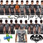 Shirts for Men – Spiral