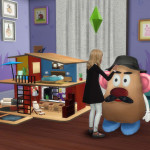 Sims 4. Large Toys, dollhouse and Mr.Potato. | pqSim4