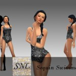 SuperNerdyLove's Sequin Swimmer