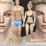 Pralinesims' PS Beach Blossom Skin Shades