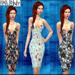 EmeraldNY's Venus Dress by Sentate Recolor (Floral)- mesh needed