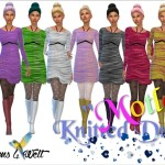 """Knitted Dresses """"Motley"""""""