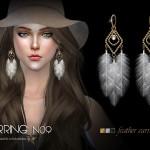 S-Club LL ts4 earring 09(f)