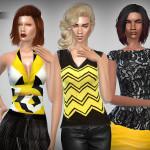 Lunararc Sims : Mini Clothing Collection Part 2