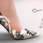 MA$ims 3: Oscar De La Renta Stiletto Pumps
