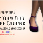 leeleesims1, 500 Followers' Gift, Part 1 – Keep Your Feet on…