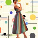 Unbichobolita — Hello! Dress inspired by the movie Pajama Game….
