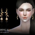 S-Club LL ts4 earring 11(f)