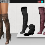 ShakeProductions' Shake Productions – Over The Knee Boots 48
