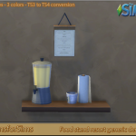 TS3 To TS4 Conversion – resort generic deco | Designs for Sims