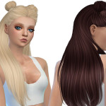 Simista A little sims 4 blog ♥: Galaxy Hair Retexture
