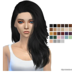 Simista A little sims 4 blog ♥: Da Bomb Hair Retexture