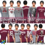 Alabama Crimson Tide Shirts for Men