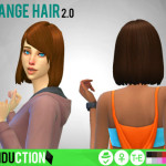 Simduction – Strange Hair 2.0 by Simduction Retexture of my…