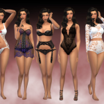 Inspire & Create | Lookbook Special : Lingerie Hair by @cool-sims…