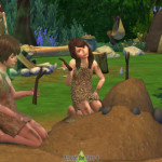Around the Sims, ATS4   Doll House for prehistoric times Because I…