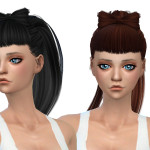 Simista A little sims 4 blog ♥: Candy Hair Retexture