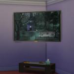 Simista A little sims 4 blog ♥: Plasmatron 3000 Flat Screen TV Corner Model