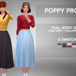 GOHLIAD : POPPY PROPER – FULL BODY OUTFITLoved this skirt…