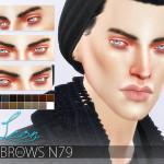 Pralinesims' Eyebrow Bundle N10