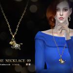 S-Club LL ts4 necklace N09