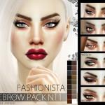 Pralinesims' Fashionista Eyebrow Pack N11