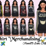"Shirts ""Merchandising"" for Women"