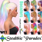 """Stealthic Hair """"Paradox"""" Recolors"""