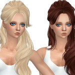 Simista A little sims 4 blog ♥: SkySims Hair 068 Retexture