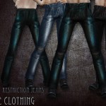 RemusSirion's Restriction jeans – male clothing