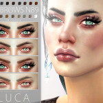 Pralinesims' Luca Eyebrows N89