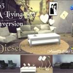 "TS3 EA Living Set ""Diesel"" Conversion"