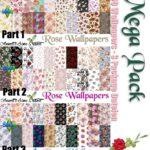 Mega Pack – 60 Rose Wallpapers