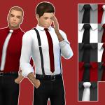 Sims 4 CC by Princess Paranoia – A shirt for men t – e 9 swatches EA mesh edited…