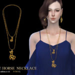 S-Club LL ts4 necklace N11