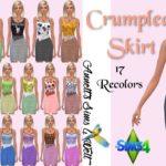 Crumpled Skirts