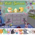 "Child Wall Tattoos ""Animals"""