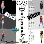 "CAS Backgrounds ""Black – White"""