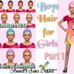 Boys Hair for Girls – Part 1