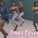 So I put a dance studio in a gym I was building… – Sims Like It Hot