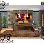 jomsims' Pour Lui Adult Bedroom. for him!