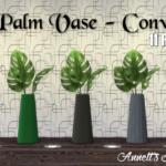 TS3 Palm Vase – Conversion & Recolors