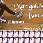 Marigold's Combat Boots – Recolors