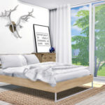 MXIMS – Bedroom #11 IKEA Trysil Bed Oliver Marble Tray…